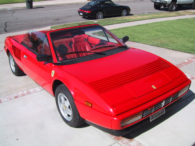 ferrari mondial running costs 1985 ferrari mondial 3 0 cabriolet for sale classic cars for sale. Black Bedroom Furniture Sets. Home Design Ideas