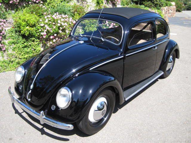 1952 Vw Beetle 11g Sunroof Sedan For Sale Oldbug Com