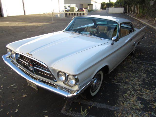 1960 Chrysler 300f For Sale Californiacar Com
