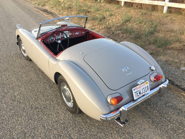 Ewan McGregor's 1962 MGA 1600 Mark 2 For Sale